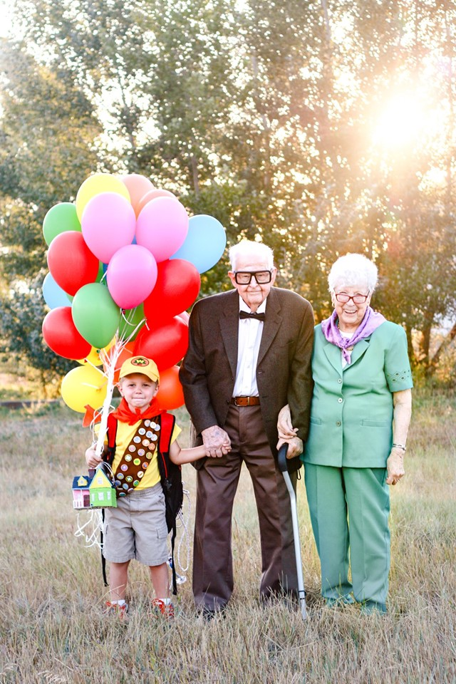 "pixar ""up"" movie, photoshoot"
