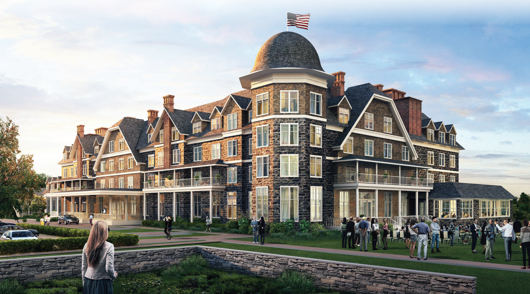 Hill Top House Hotel rendering