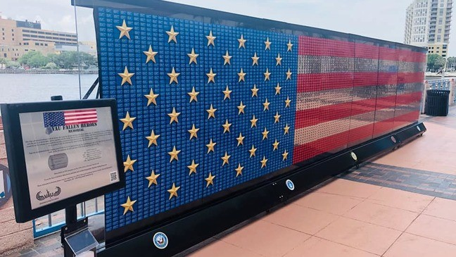American Flag side