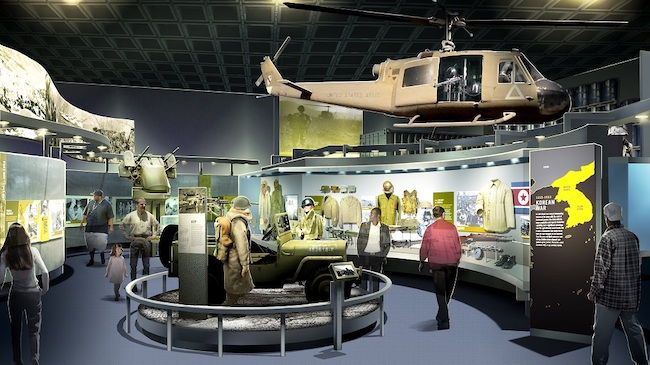 Cold War Gallery at The National Museum of the United States Army