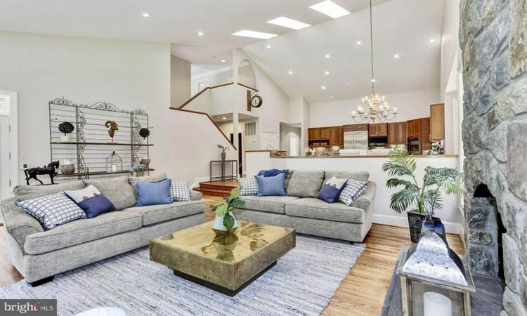 Avenel Farm Living Room