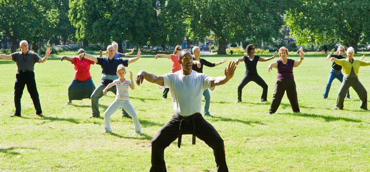 Tai chi is good for the heart.