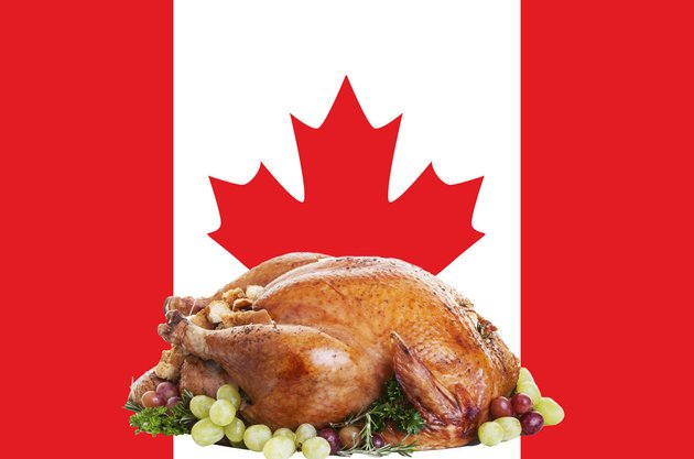 turkey and canadian flag