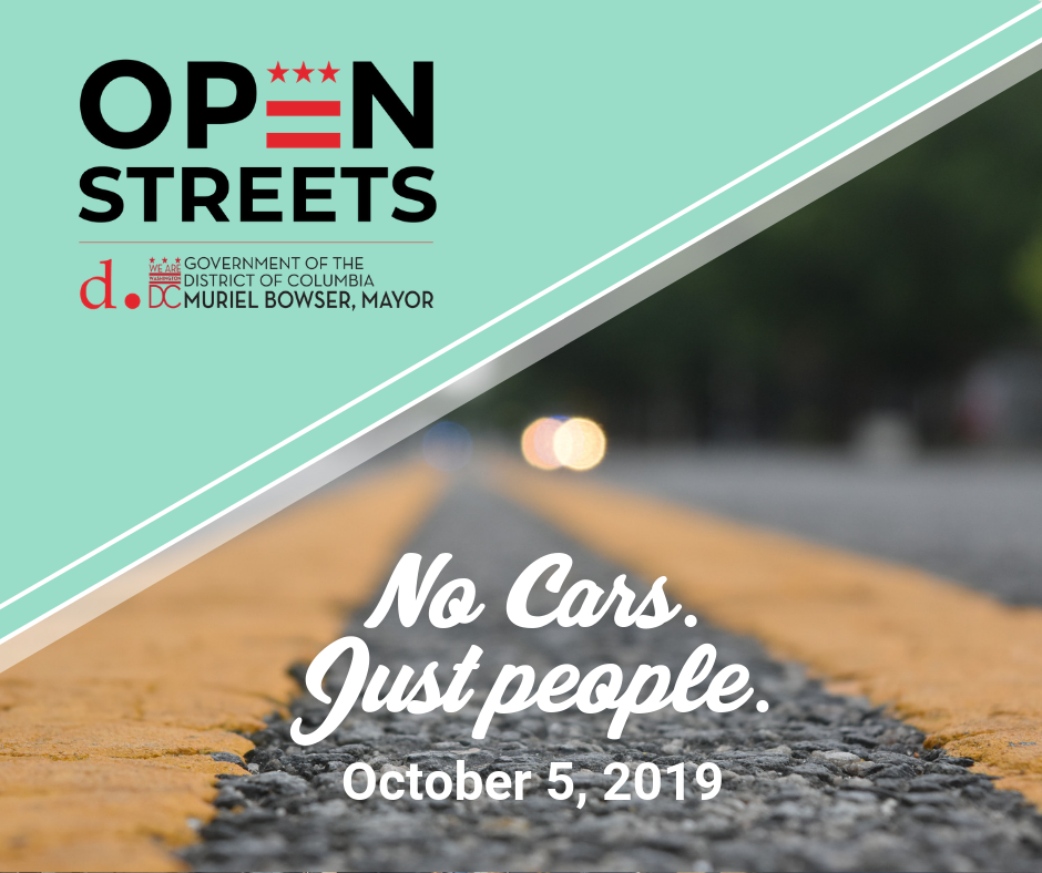 Open Streets DC flyer