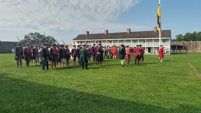 Fort Frederick State Park, courtesy Friends of Fort Frederick