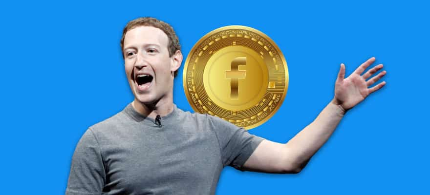 Facebook Cryptocurrency Graphic