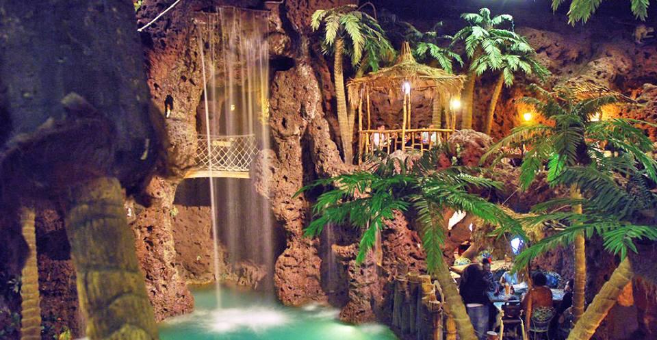 Casa Bonita waterfall