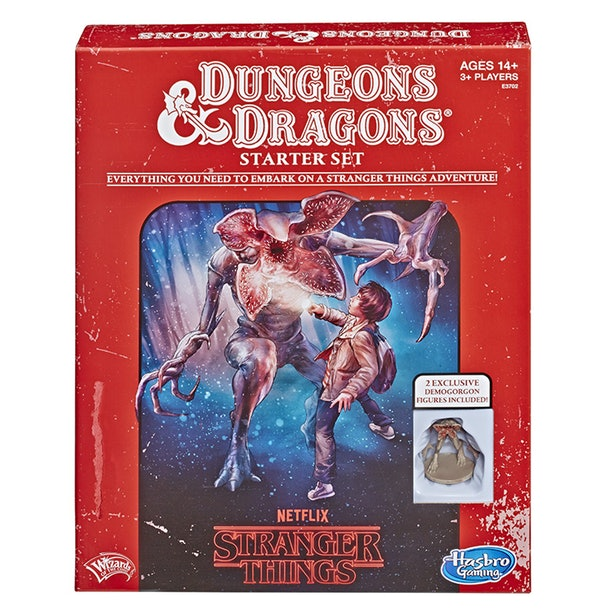Stranger Things Dungeons & Dragons game.