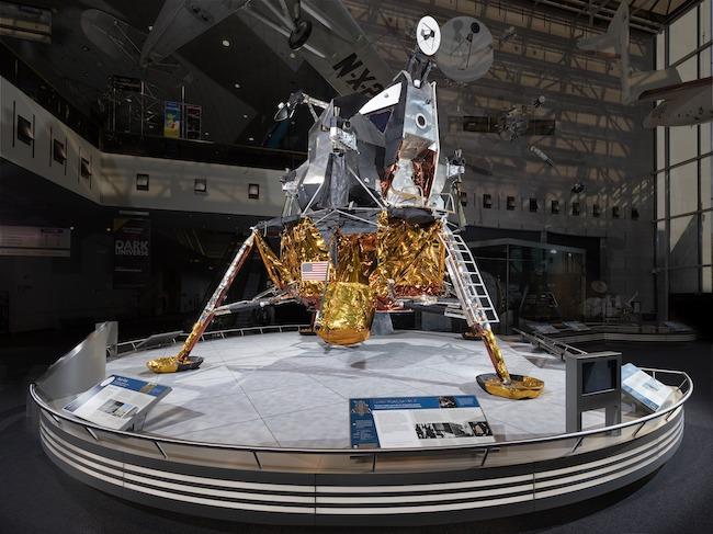 Lunar Module 2, courtesy Smithsonian