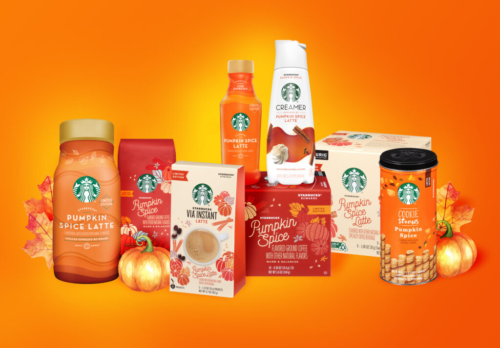 starbucks psl products