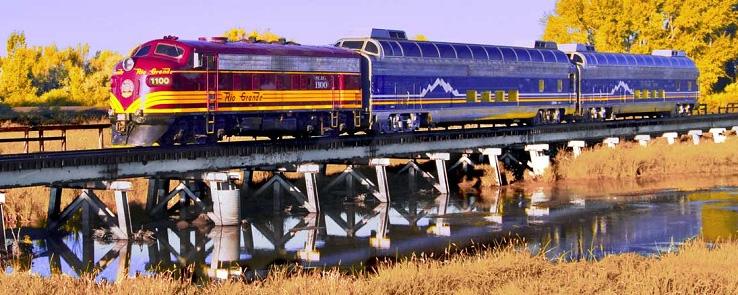 Rio Grande Fall train