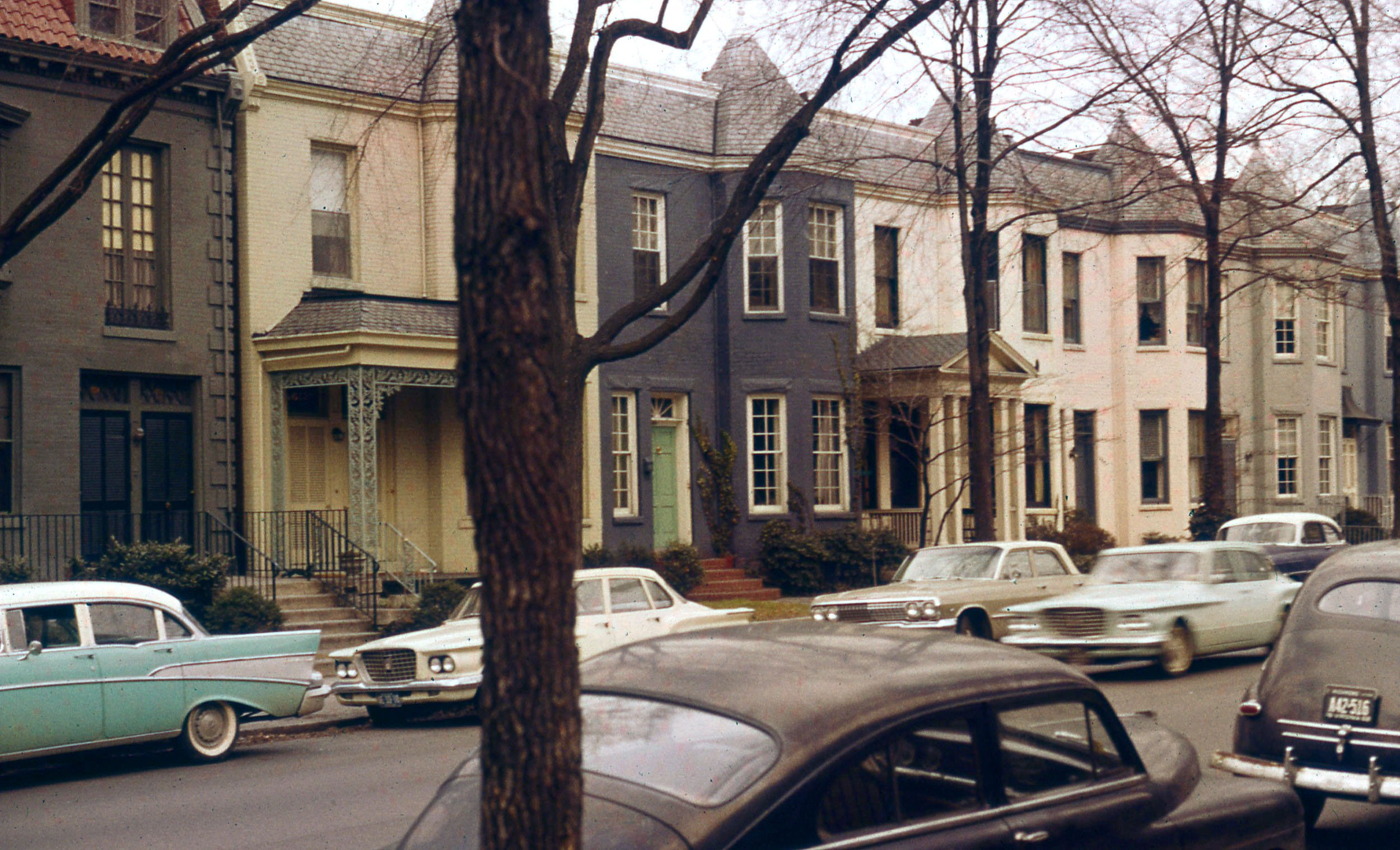 The Fan Neighborhood in Richmond Virginia in 1963 Courtesy of VCU Library
