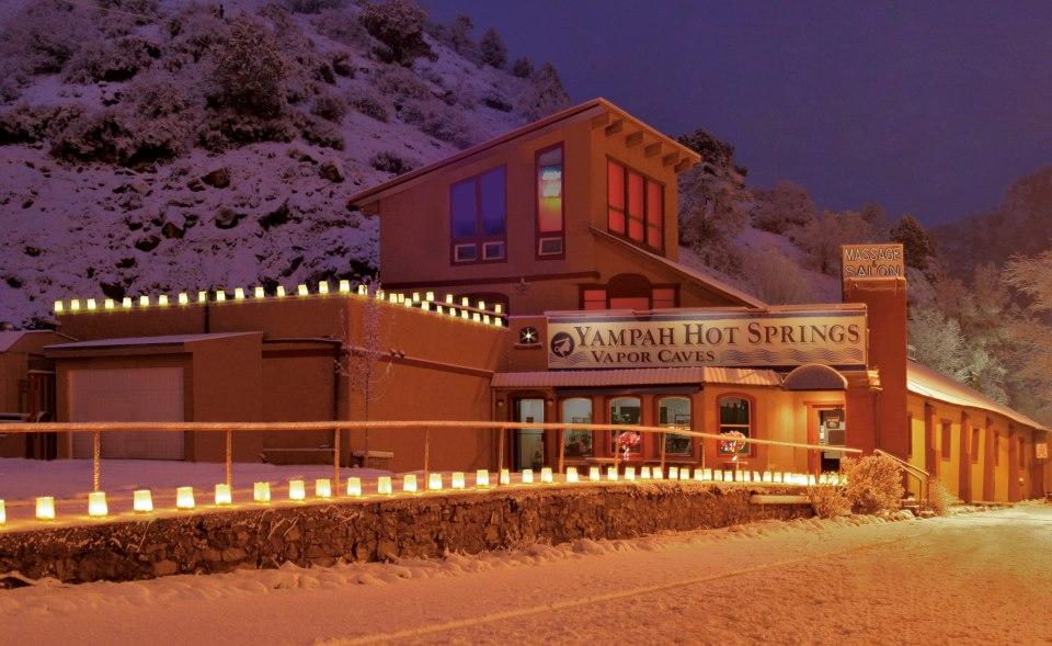 Yampah hot springs