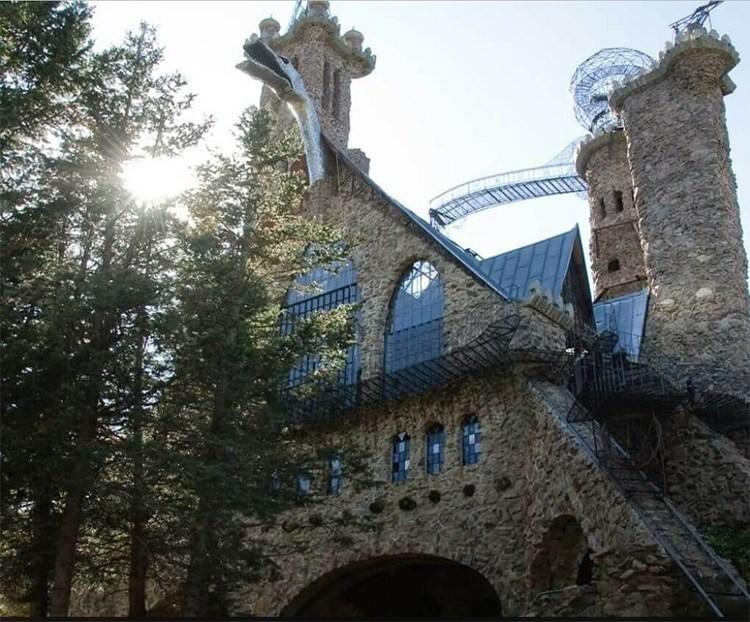 bishop castle near rye, colorado