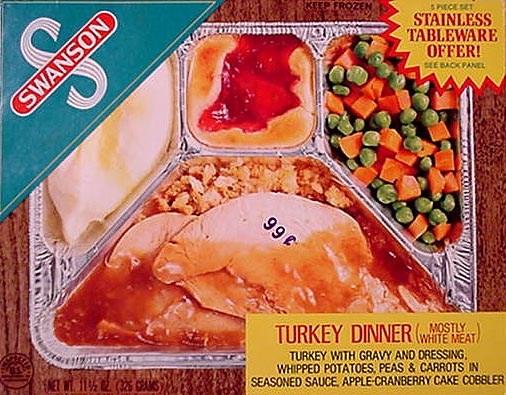 Thanksgiving tv dinner