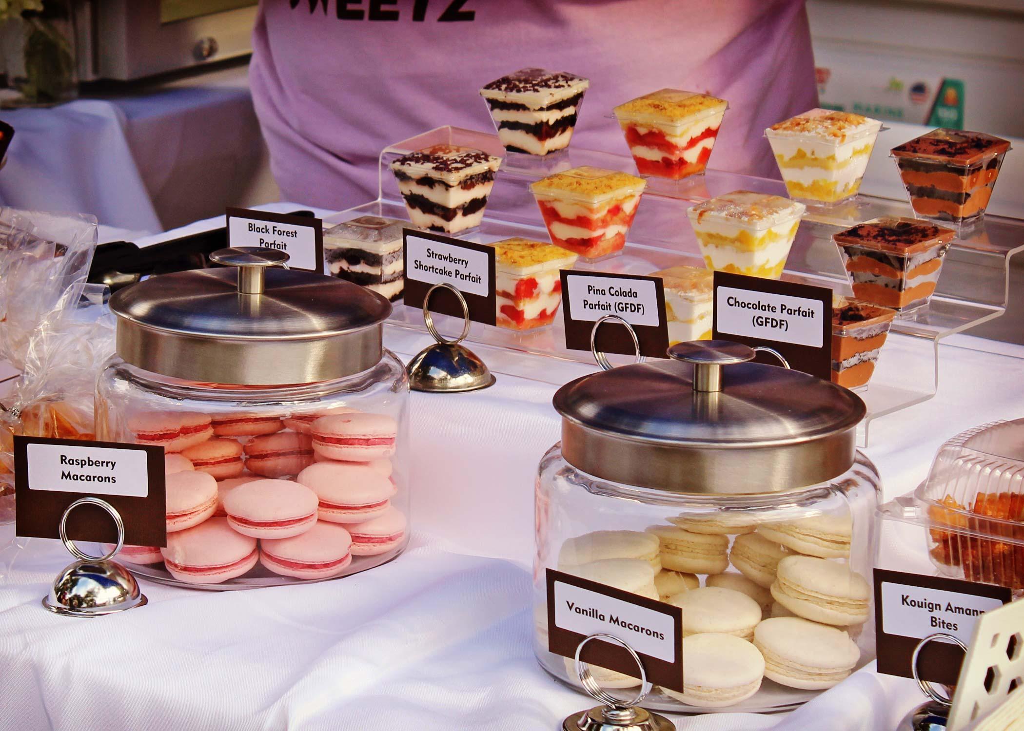 food vendor at taste leesburg