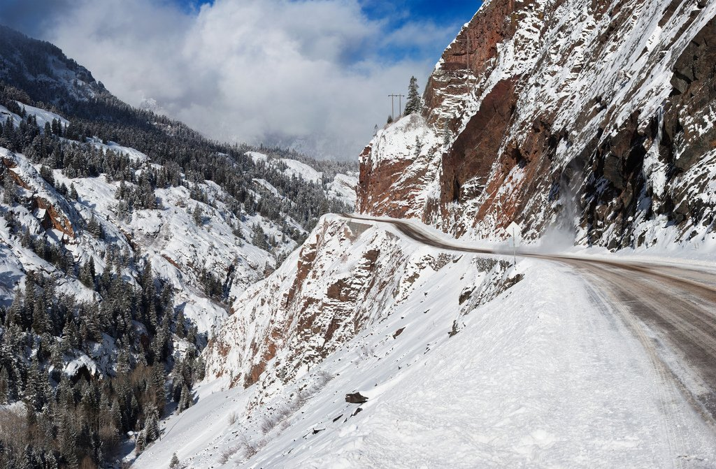 million dollar highway in colorado connection silverton and ouray