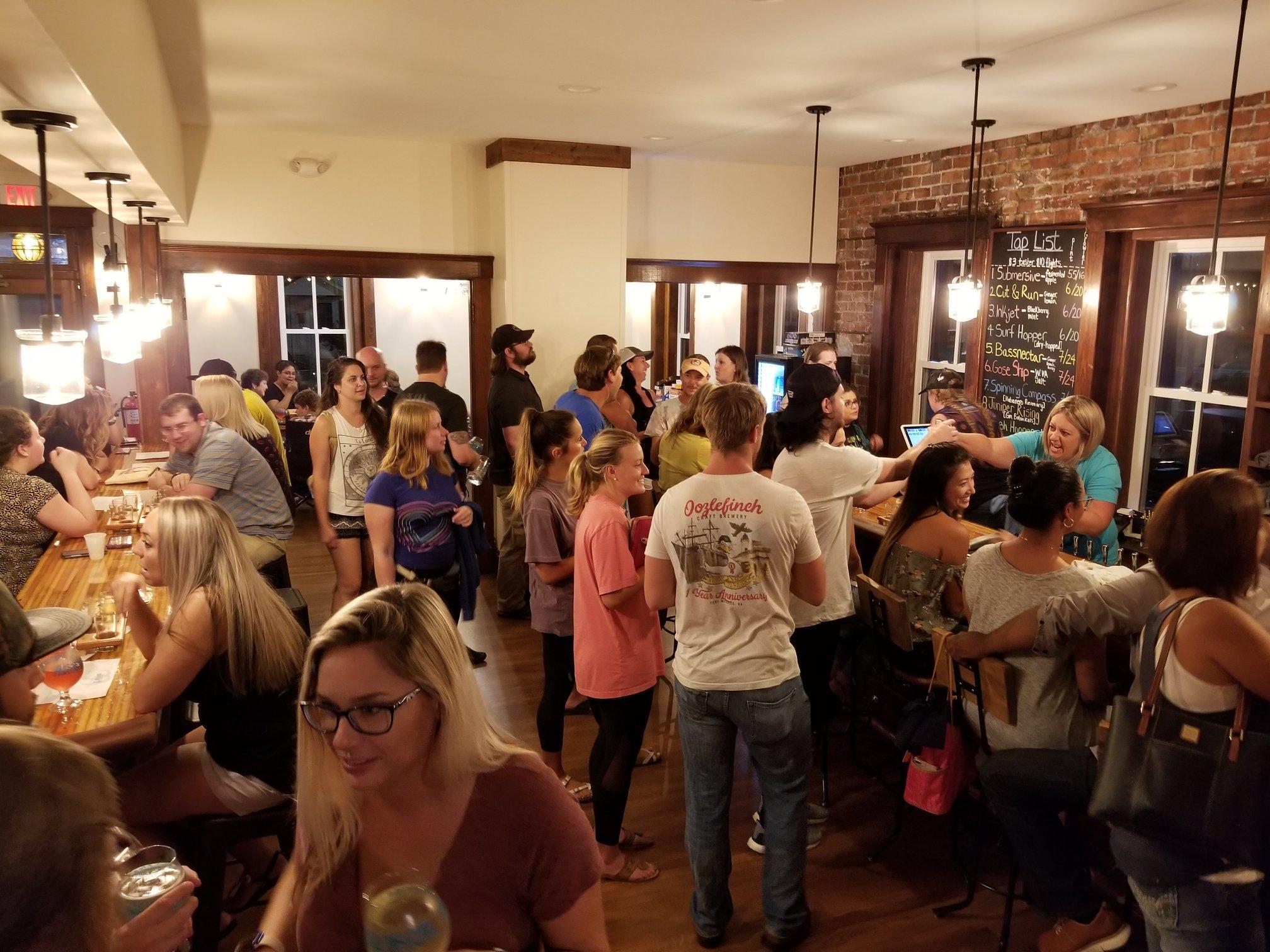 Sly Cly Ciderworks Tap Room Historic Phoebus Hampton Virginia