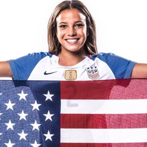 Mallory Pugh. Forward FIFA, U.S. Women's team