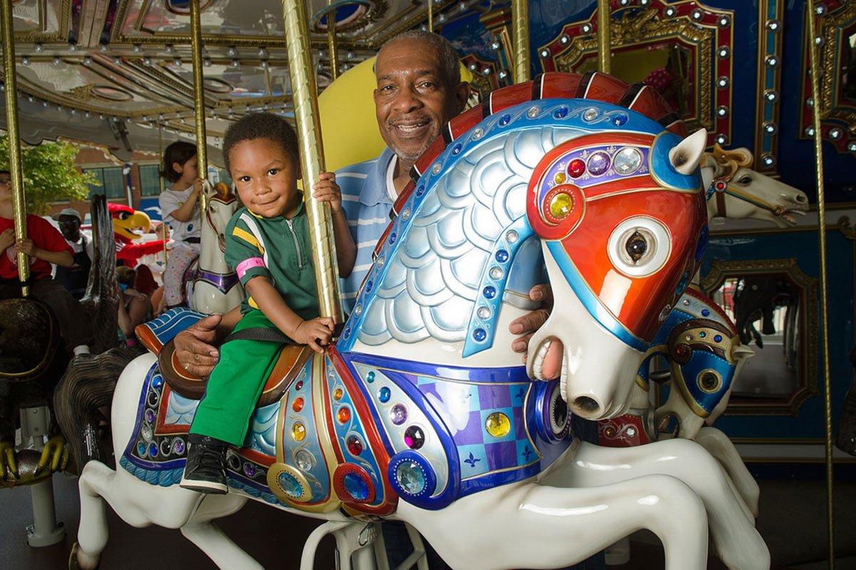 national harbor carousel