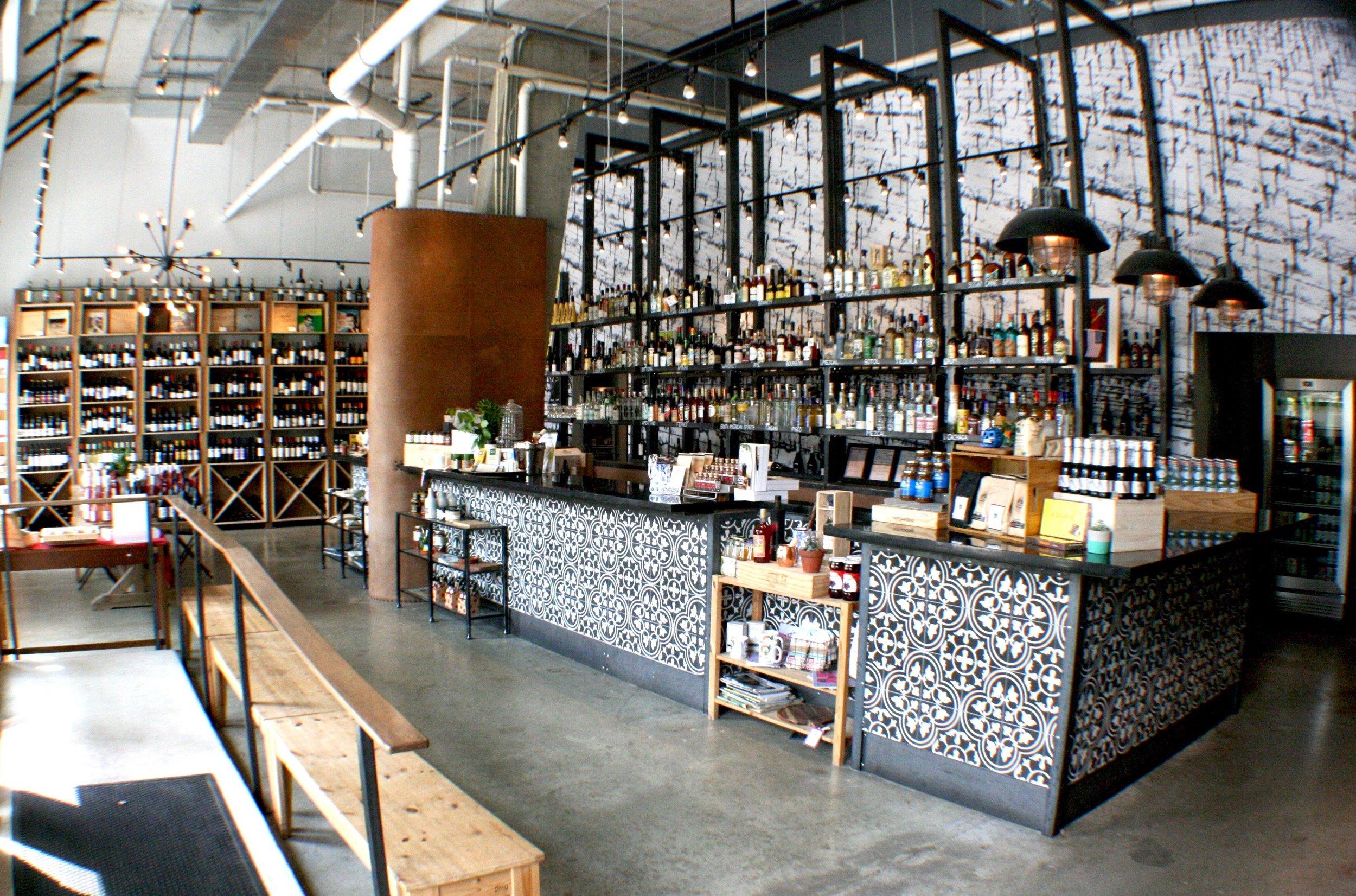 grand cata latin wine shop in dc