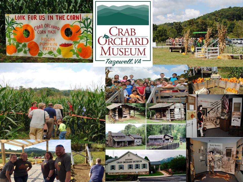 Crab Orchard Museum Corn Maze Tazwell Virginia