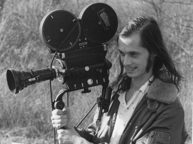 john waters on set, courtesy of dreamland news