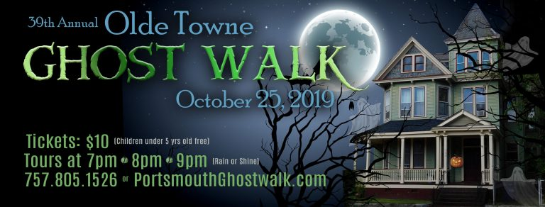 Olde Towne Portsmouth Ghost Walk Banner