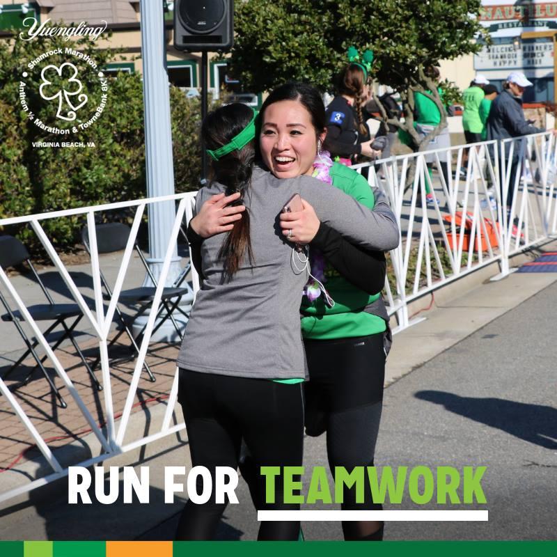 Shamrock Marathon, runners, racers