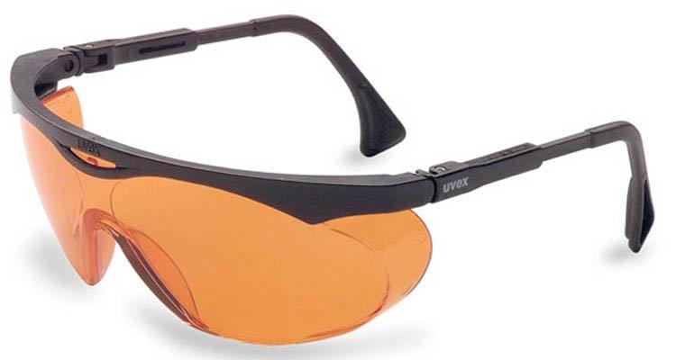 orange-tinted eyewear