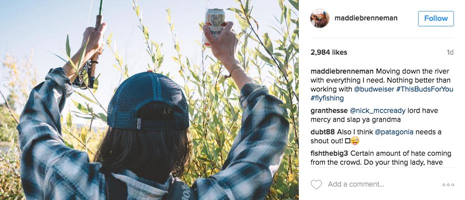 fly fishing instagram