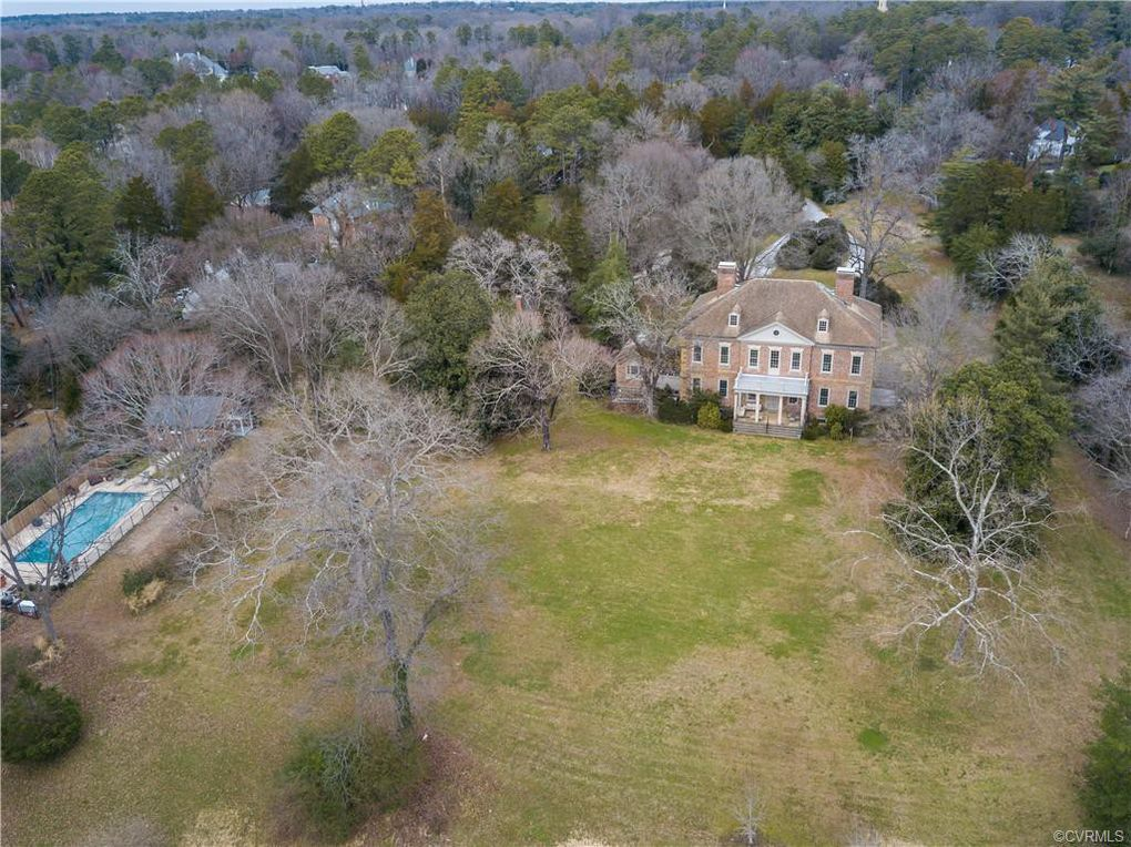 aerial view, estate
