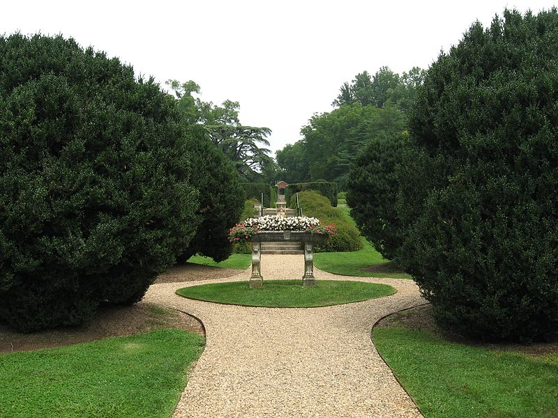 Annie duPont Formal Garden Montpelier James Madison Virginia History duPont Family