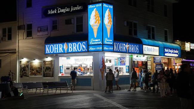 Kohr Brothers in Ocean City, courtesy of Facebook