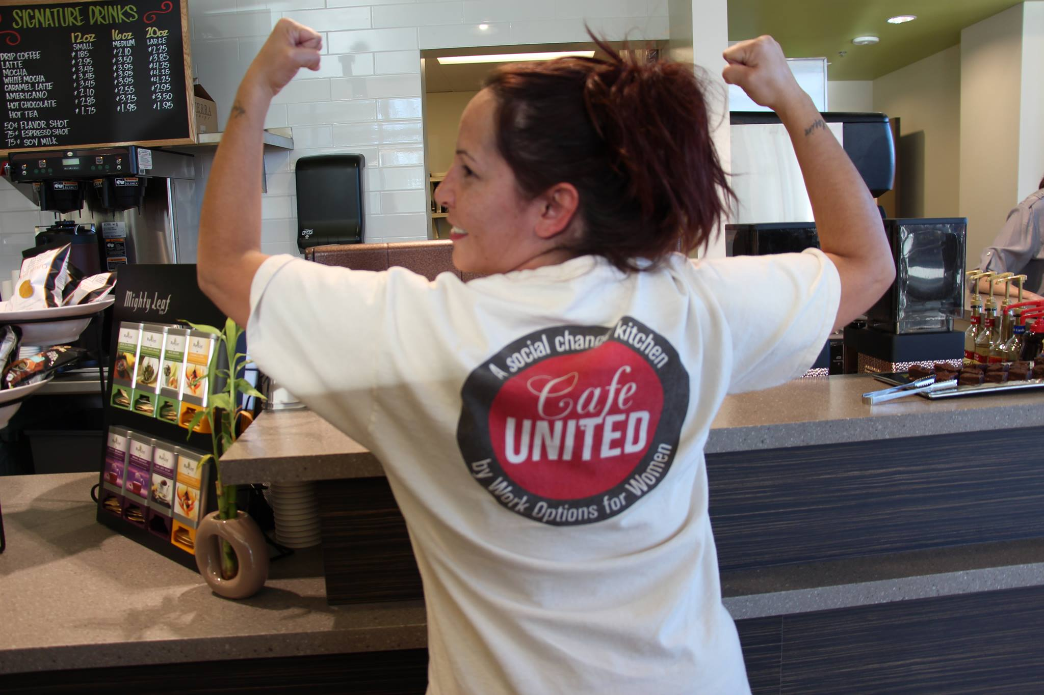 Cafe United is a project of Work Options for Women. Eat at this Denver-based spot and change lives in the process!