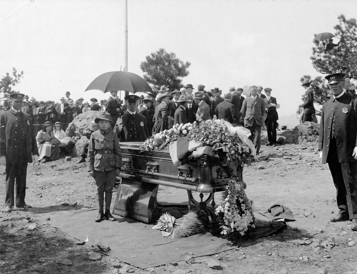 Buffalo Bill's funeral.