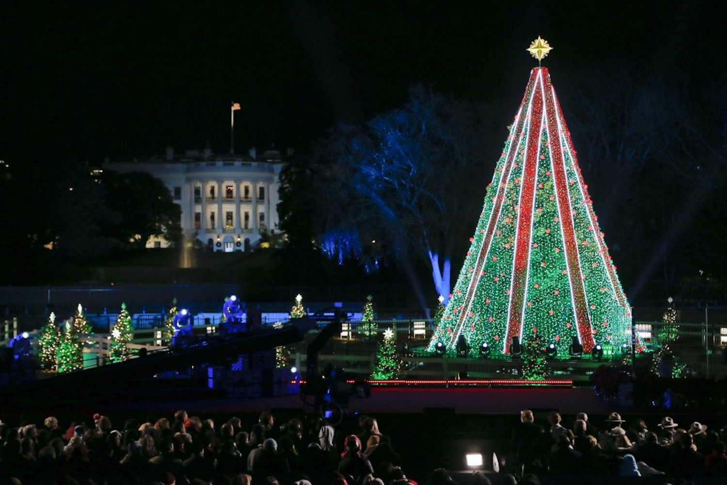 Christmas Tree Lighting.Lottery Now Open For Tickets To The National Christmas Tree