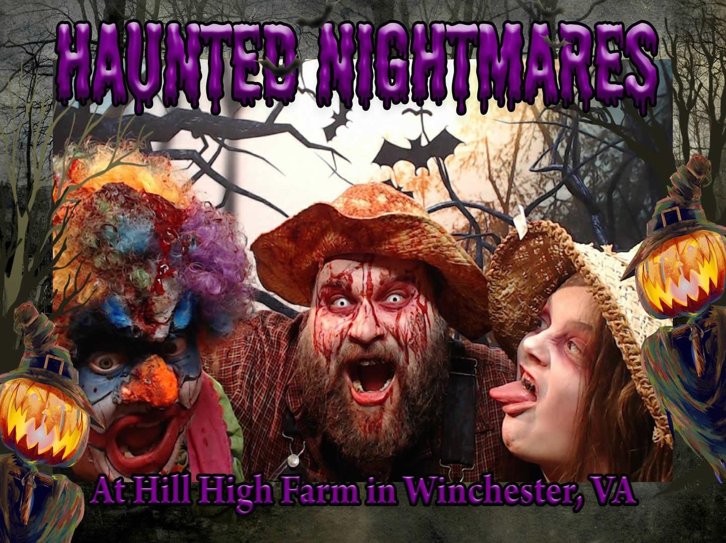 Haunted Nightmares poster