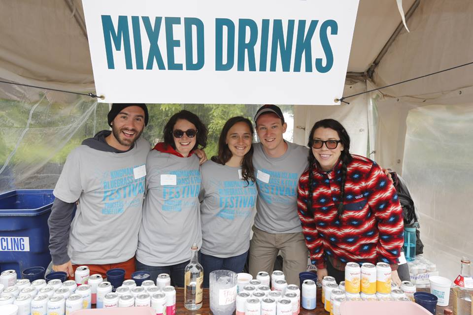 mixed drink tent