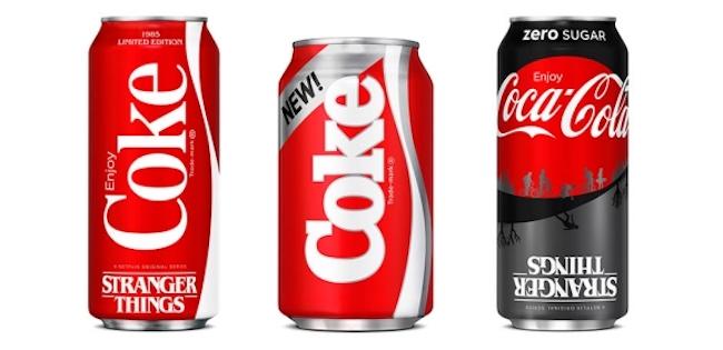 "New Coke rendition ""Stranger Things,"" courtesy Coca-Cola Company"