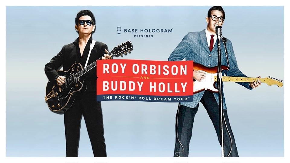 buddy holly, roy orbison holograms, base hologram