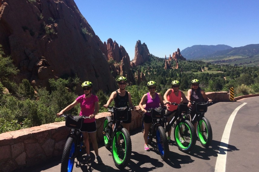 garden of gods biking