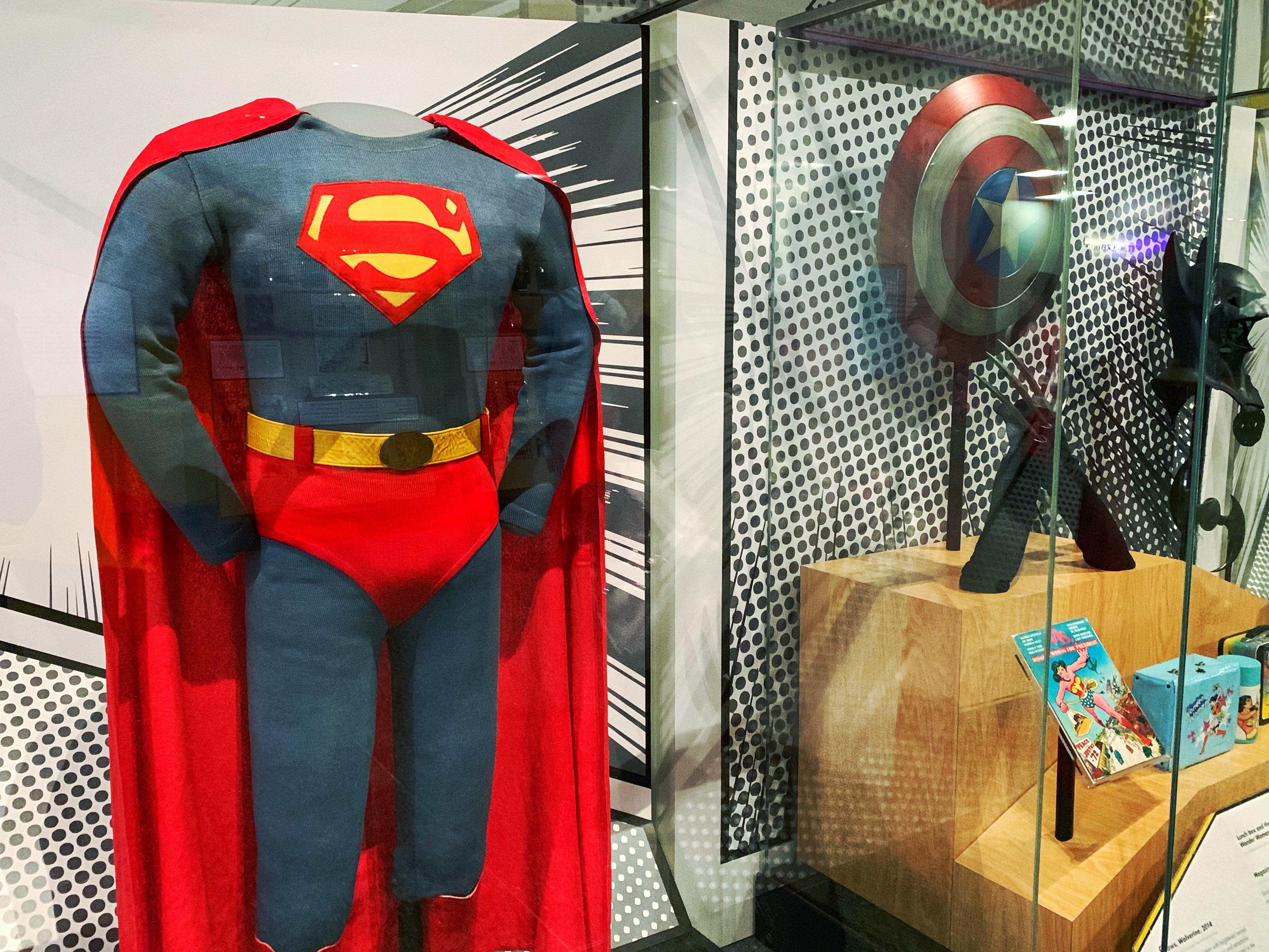 Smithsonian National Museum of American History's Superhero Exhibit