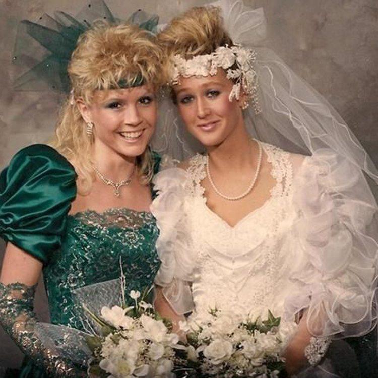 1980s bride