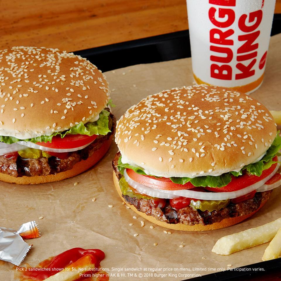 Burger King, burgers