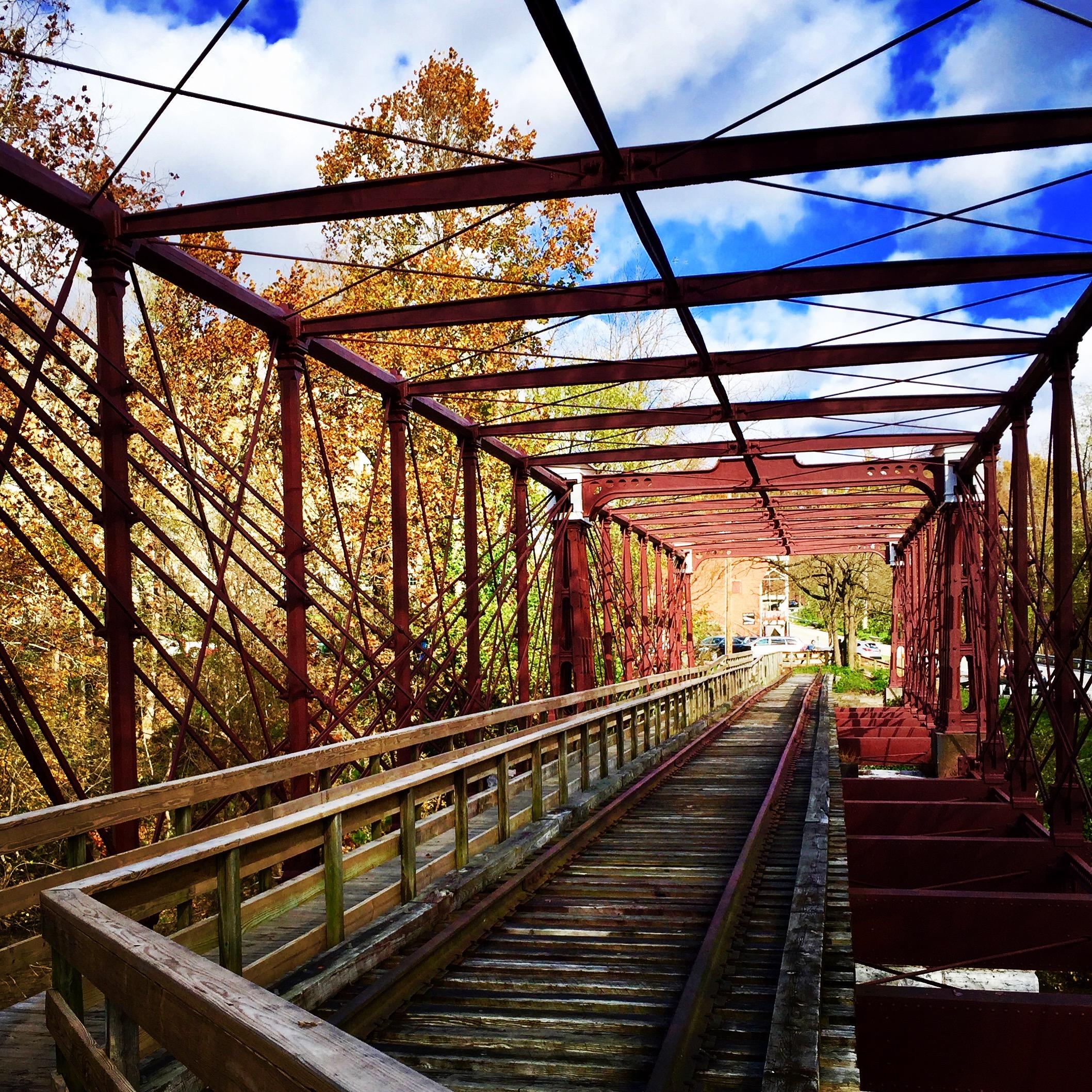 Bollman Truss Railroad Bridge, Christa Emmer