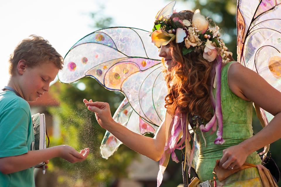 fairy, children, magic