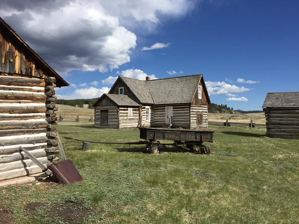 Florissant fossil beds homestead