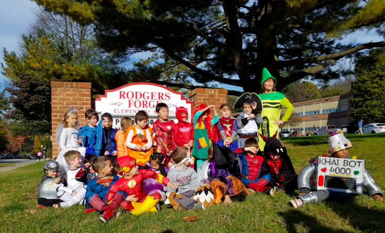 Rodgers forge elementary