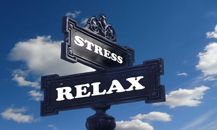 Stress - Relax sign